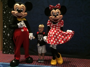 meeting Mickey and Minnie at Friends for Life 2015