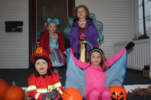 Henry's first Halloween with type 1 diabetes
